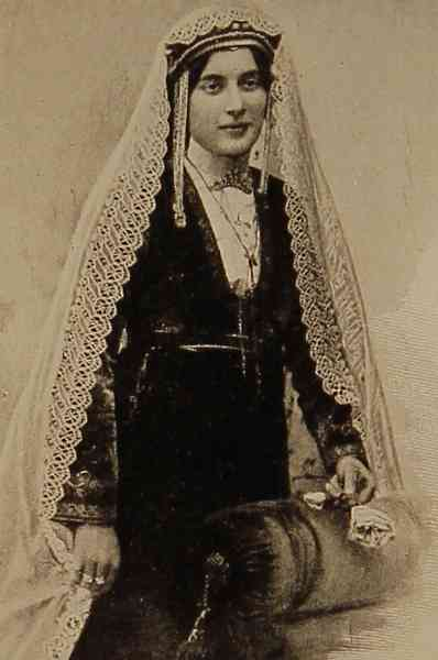 Armenian woman from Georgia – 1907