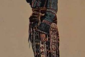 Armenian costume of Sasun