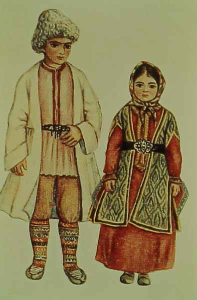 Armenian costumes of Artsakh