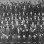 Schoolgirls of the Malatia Educational Society in Aleppo - 1924