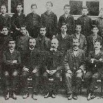 Armenian graduates with their teachers - Trapizon 1908