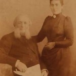 Armenian painter Ayvazovski with his wife in 1887.