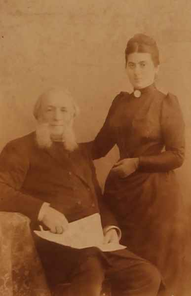 Ayvazovski with his wife – 1887