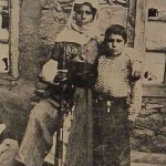 Mother with her son - 1910