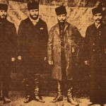 Armenian leaders of the Second Zeytun Resistance in 1896