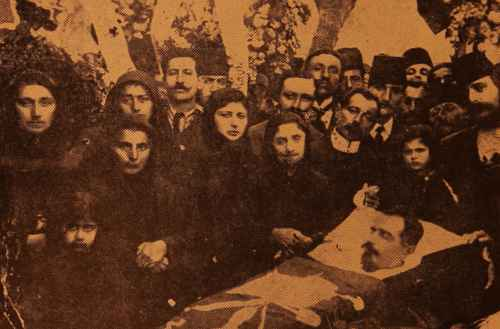 Burial of Hagop Aprahamian
