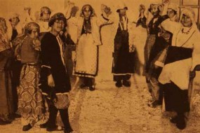 Young dancers of the Melkonian College