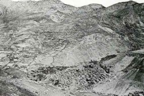 Bird's eye photo of Zeytun – 1907