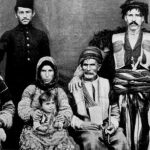 Armenian family, Semal village - 1904