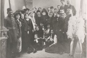 Armenian wedding of Hrand Nazariantz – Constantinople