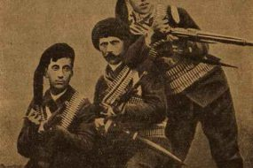 Fedayee (partisan) Serop Vartanian and his sons