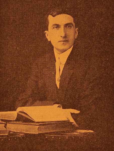 Adom Yarjanian Siamanto, Boston, 1910