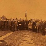 Remembrance ceremony at the Armenian volunteers cemetary - 1930
