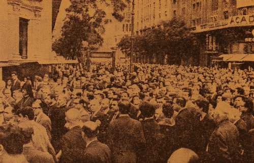 50th anniversary of the Armenian genocide, Buenos Aires