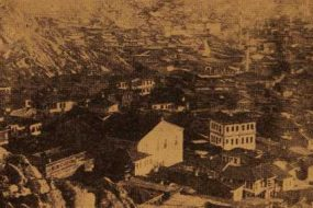 Armenian district, its church and schools, in Sivrihisar