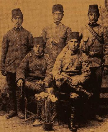Armenian soldiers during the Balkan War – Edirne 1912