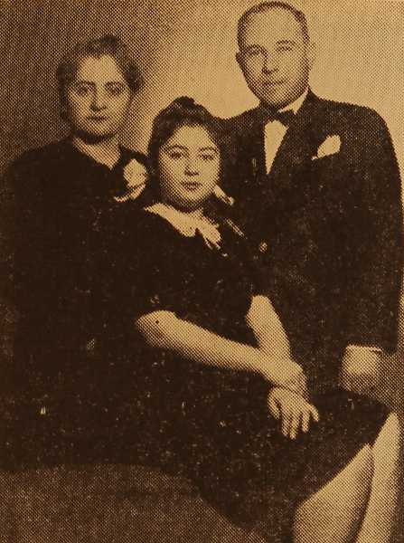 Doctor Hagop Balian with wife and daughter
