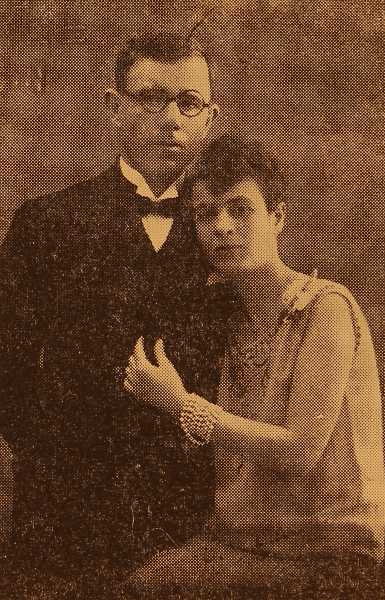 Doctor Mihran Nersesian and his wife Sona