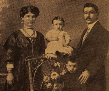 Garabed Hagop Balian and his wife Iskuhi (Djenderedjian)