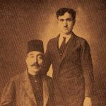 Garabed Kasbarian and his son Yervant - Sivrihisar