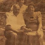 Harutiun and Serpuhi (Balian) Madanian, and their daughter Anahid - Kislovodsk North Caucasus