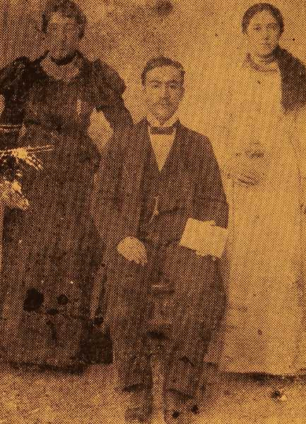 Harutiun Helvadjian and his uncle's daughters – Sivrihisar