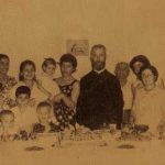 Hovhannesian family with Kahana Der Harutiun - USA