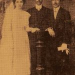 Karekin Djenderedjian with his bride - Smyrna