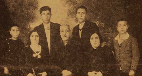 Krikor Ermiyan family, USA