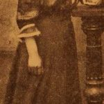 Miss Gadar Baliozian (later Mrs Terzian) - Sivrihisar