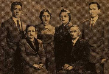 Yervant and Mari Aredjian family