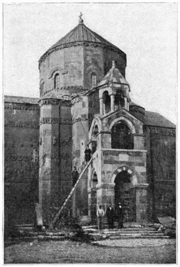 Akhtamar island, Surp Khach Church – Lake Van 1911