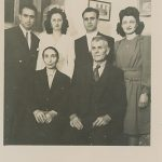 Anahid and Antranik Balian wedding - 1946