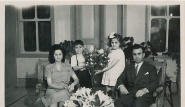Anahid and Antranik Balian wedding – 1946
