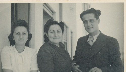 Anahid and Arpi Kaloustian – 1950s