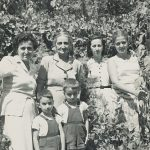 Anahid Balian and kids, Zarmanian family - early 1950s Chtaura (Lebanon)