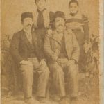 Arshag Kaloustian and Krikor - 1896