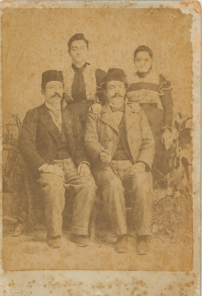 Arshag Kaloustian and Krikor – 1896