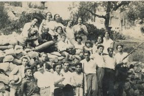 Anahid Kaloustian and relatives – August 1929