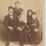 Garabed Agha Kaloustian and family - 1896 or 1897