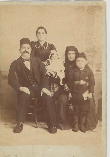 Garabed Agha Kaloustian and family – 1896