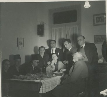 Kaloustian, Balian and Tutunjian families – 1 January 1949