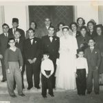 Lousig Zarmanian's wedding party - 1953