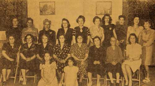 Union of the Armenians from Daron in Akron – Ohio 1948