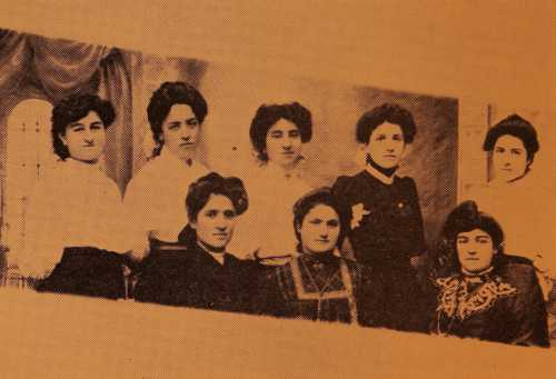 Armenian teachers of the American Missionary School for Girls in Garin – 1909