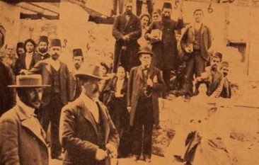Cornerstone laying ceremony of the American Missionary School for Girls