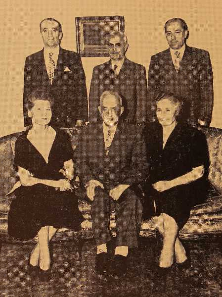 Executive Committee Members of the New York Garin Compatriotic Union – 1949