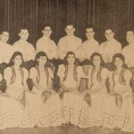 Folk Dance group of the Boston Chapter - 1945