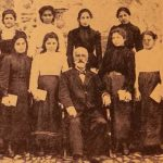 Hripsimian students with Director Yeghishe Doursounian - Garin 1901