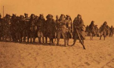 Armenian Legionnaires leaving Hayfa for Beirut